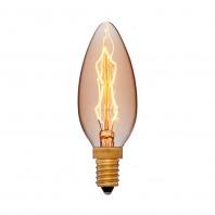 Ретро лампа накаливания Эдисона «Vintage» свеча CF35 F4 E14