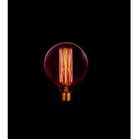 Ретро лампа накаливания Эдисона «Vintage» E27 G125 60Вт 2200K 60W 240V E27 Прозрачная