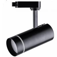 Светодиодный светильник Feron AL106 трековый на шинопровод 20W 4000K 80 градусов черный 32447