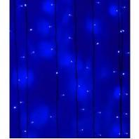 Светодиодный занавес 2х1 метров, 200 led Синий