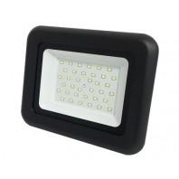 Прожектор СДО-07-50 светодиодный черный IP65 ASD