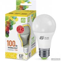 Cветодиодная лампа LED-A60-standard 11Вт 230В Е27 3000К 990Лм ASD