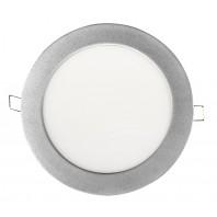 Светодиодная круглая панель LLT  RLP 14Вт алюминий IP40