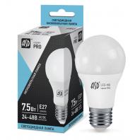 Низковольтная светодиодная лампа LED-MO-12/24V-PRO 7.5ВТ 12-24В Е27 4000К 600ЛМ ASD