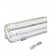 Светильник влагозащищенный под LED лампы ССП-456 2х18Вт 160-260В LED-Т8R/G13 IP65 1200 мм ASD