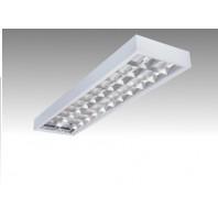 Светильник люминесцентный ЛПО 2х36-CSVT накладной зеркальная решетка ЭПРА (ЛПО 2х36-CSVT)