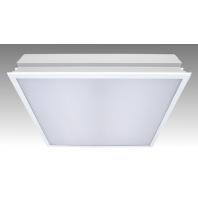 Светильник светодиодный ДВО-34Вт LED 2600Лм 4000К опал IP20 Грильято Operlux  CSVT Operlux - 34/opal