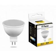 Лампа светодиодная Feron LB-560 (9W) 230V G5.3 2700K MR16