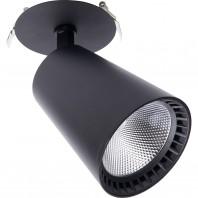 Светодиодный светильник Feron AL181 встраиваемый 30W 4000K черный