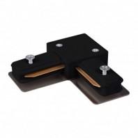 Коннектор угловой для встраиваемого шинопровода, черный, LD1005 Артикул 10360