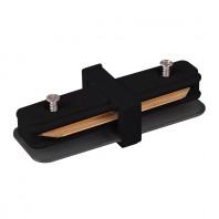 Коннектор прямой для встраиваемого шинопровода, черный, LD1004 Артикул 10358