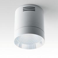 Светодиодный светильник Feron AL521 накладной 10W 4000K белый с хром кольцом
