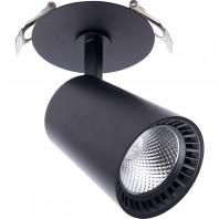 Светодиодный светильник Feron AL181 встраиваемый 12W 4000K черный