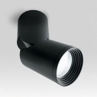 Светодиодный светильник Feron AL517 накладной 10W 4000K черный наклонный