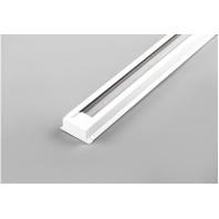 Шинопровод для трековых светильников, белый, 1м, в наборе токовод, заглушка, крепление, CAB1000 артикул 10313