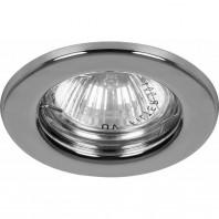 Светильник встраиваемый DL10/DL3201 MR16 50W G5.3 хром