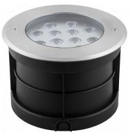Тротуарный светодиодный светильник ЛЮКС, 12W 6500K AC230V D180*H120мм IP67, SP4315