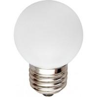 """Лампа декоративная светодиодная для Белт-лайт. Форма """"Шар"""" LED-G45-1W/RGB/E27/FR/С, RGB. ТМ Volpe."""