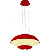 Светодиодная люстра VISTA 019-007-0024 (RED) 24W