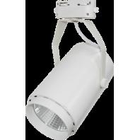 Светильник светодиодный трековый TR-02 10Вт 230В 4000К 630Лм 72x121x155мм белый IP40 LLT