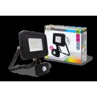 Прожектор светодиодный СДО-5ДВР-20 20Вт 230В 6500К 1600Лм с внешним датчиком движения IP44 LLT
