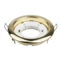 Светильник встраиваемый GX53R-mini ультратонкий металл под лампу GX53 230В золото IN HOME
