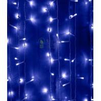 Светодиодный занавес 2x2м, 400 led цвет теплый синий мерцание