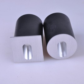 Бра встраиваемое для подсветки лестницы/пола FLOOR R Серебро 1Вт 4500 К Indoor GW-R612-1-SL-NW