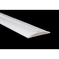 Профиль для светодиодной ленты FLOOR 608 напольный для порогов, для однорядной ленты с экраном (Экран + заглушки)