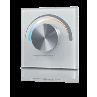 Радио панель встраиваемая в стену с валкодером на 1 зону  для MIX ленты