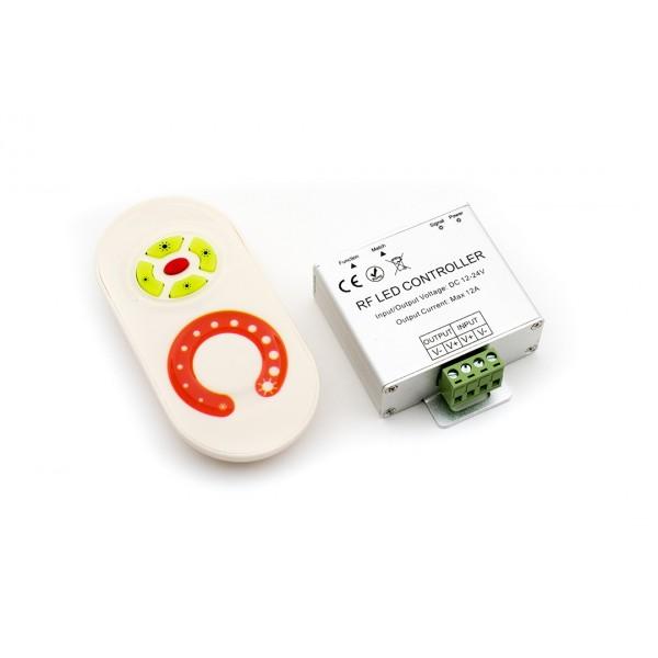 LED ДИММЕР белый сенсор 10A max:120 W 12/24V:240 W