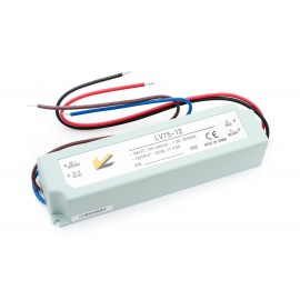 Блок питания для ленты IP 67 пластик LV-75-12