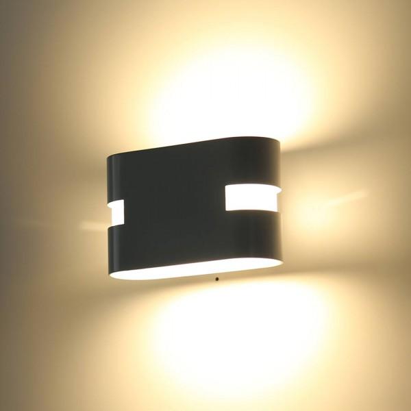 Бра декоративное RAZOR HR Черный 6Вт 4000 К Indoor GW-1556-6-BL-NW