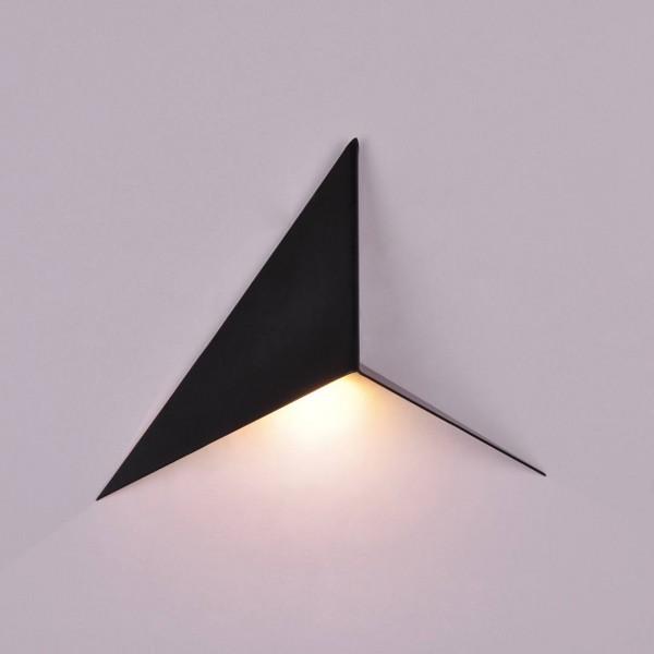 Бра декоративное TRIK  Черный 1Вт 3000 К Indoor GW-9103-1-BL-WW