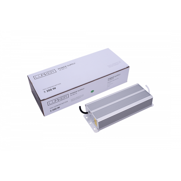 Al Блок питания TPW LUX, 200 W Влагозащитный IP66, 24 V, 3 года гарантии