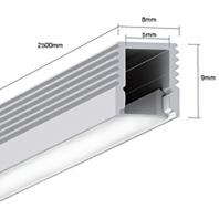 Профиль для светодиодной ленты подвесной LS.0709 для однорядной ленты