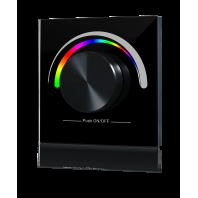 Радио панель встраиваемая в стену с валкодером на 1 зону  для RGB ленты