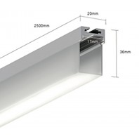 Профиль для светодиодной ленты подвесной LS.1911P