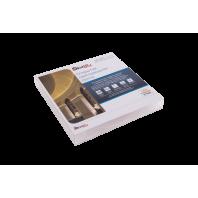 Лента светодиодная 2x DSG 2835 WW 196L-V24-IP33, 3000K, 980 LED, 18W/m, 5000*15*2 mm, LUX