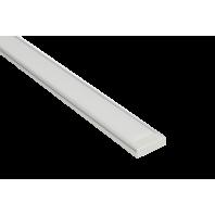 Профиль для светодиодной ленты 2006х2  для всех двухрядных лент (Экран + заглушки + крепеж + саморезы)