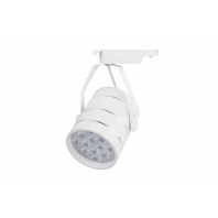 Светильник спот для трековых систем белый 12Вт 4000-4500K (Нейтральный белый) TL51-WH-12-NW