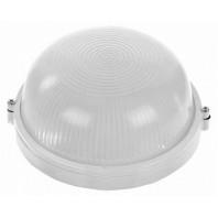 Светильник НПП-03-60-013 IP65 Банник 1301 Круг малый матовый корпус белый