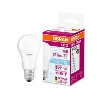 Лампа светодиодная OSRAM LED STAR Classic A 10.5W (замена100Вт), холодный дневной свет, матовая колба, Е27