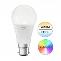 Умная светодиодная лампа для умного дома SMART+, WiFi Classic Груша A75 14 W/2700-6500K E27, 1521Лм, диммируемая, мультиколор RGBW. Управление со смартфона и Яндекс Алиса, OSRAM-LEDVANCE 4058075485518
