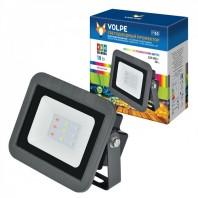 Светодиодный прожектор ULF-Q511 10W/RGB IP65 220-240В BLACK . Мультиколор.