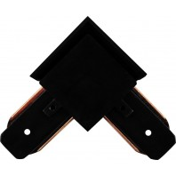 Коннектор угловой для шинопровода, черный,LD1001 Артикул 10325