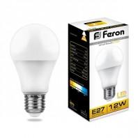 Лампа светодиодная Feron LB-93 (12W) 230V E27 2700K A60