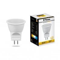 Лампа светодиодная Feron LB-271 (3W) 230V G5.3 2700K MR11
