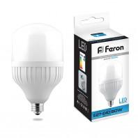 Лампа светодиодная Feron LB-65 (60W) 230V E27-E40 6400K