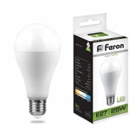 Лампа светодиодная Feron LB-100 (25W) 230V E27 4000K A65